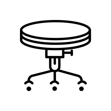 Icon for stool,bar