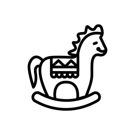 Icon for wooden,horse