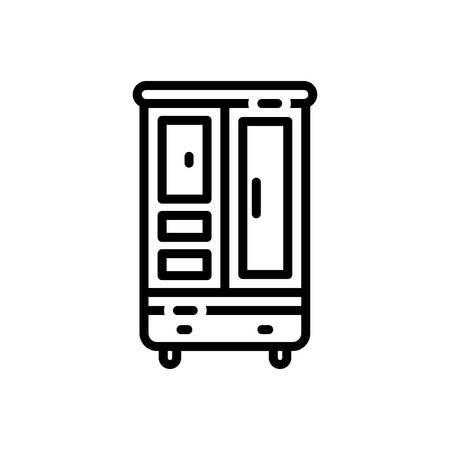 Icon for cupboard,cabinet
