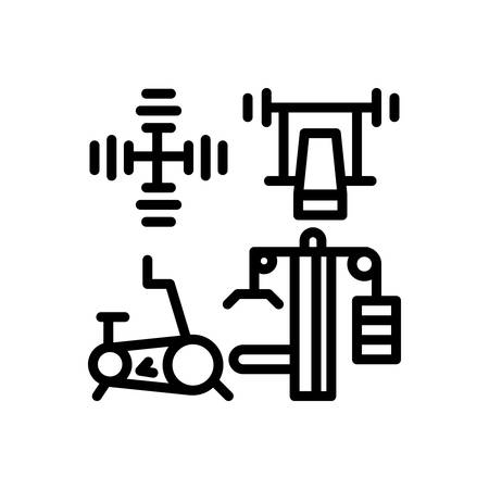Icon for gym,equipment