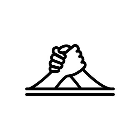 Icon for arm,wrestling