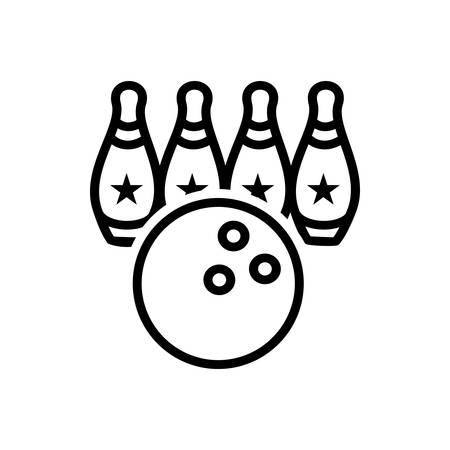 Icon for bowling,ball