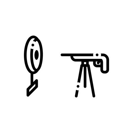 Icon for rifle,shooting