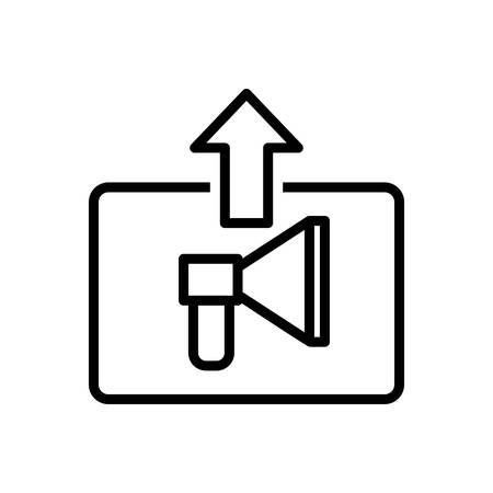 Icon for direct ,marketing