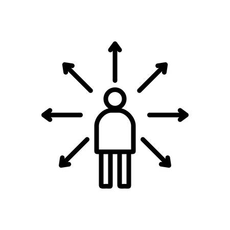 Icon for decision,making