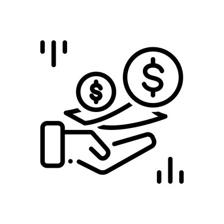 Icon for fees,charges 版權商用圖片 - 125982403