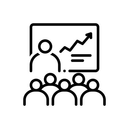 Icon for training,learning