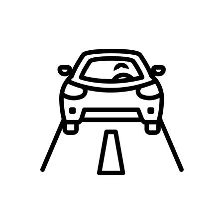 Icon for Driving,panel