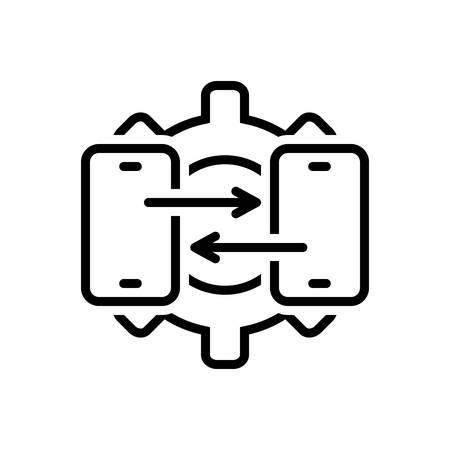 Icon for technical ,support Ilustração