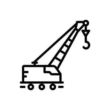 Icon for lifting,crane Stok Fotoğraf - 125982461