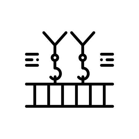 Icon for overhead,crane Çizim