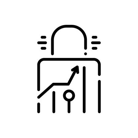 Icon for chart,security