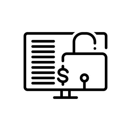Icon for financial,data