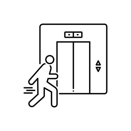 Elevator icon Çizim