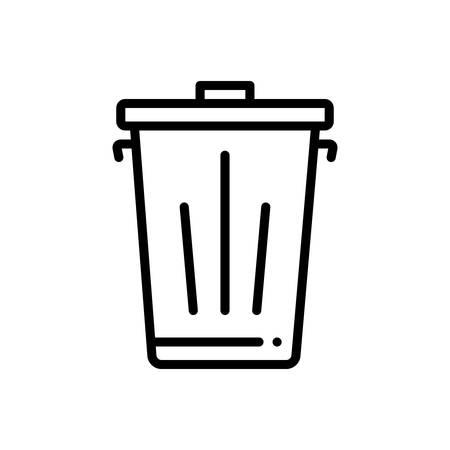 Icon for trash,dustbin