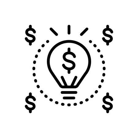 Icon for enrich,amplify Illusztráció