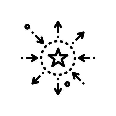 Icon for differentiation,discrimination Imagens - 126307648