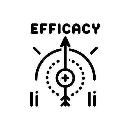 Icon for efficacy,impact