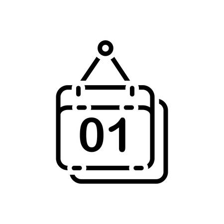 Icon for calendar,reminder Иллюстрация