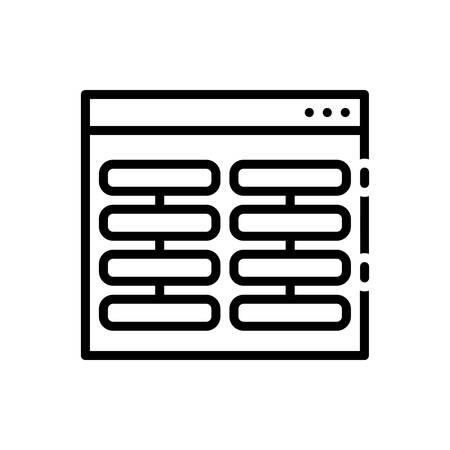 Icon for Columns,pillars