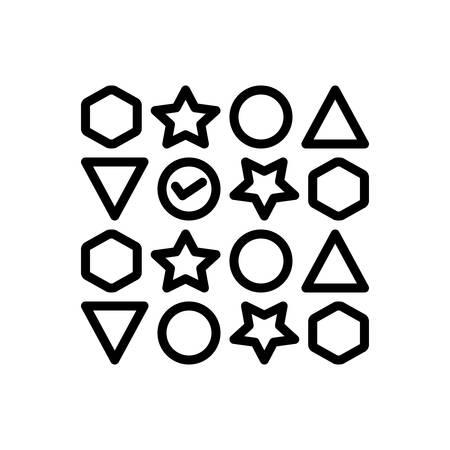 Icon for variety ,diversity Banco de Imagens - 126307855