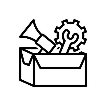 Icon for services,package