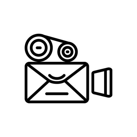 Icon for video,mailing