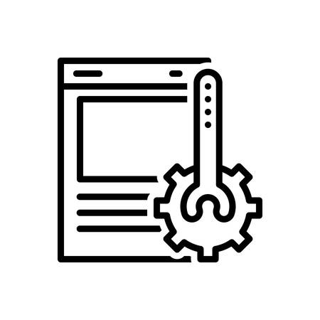 Icon for website,optimization