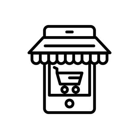 Icon for ecommerce,optimizing