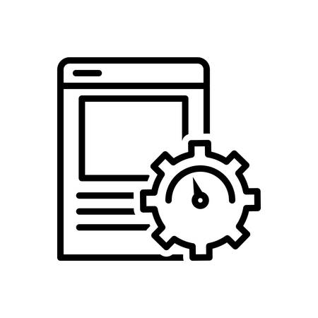 Icon for page,optimization