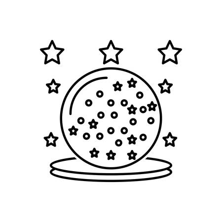 Icon for glass,magic ball