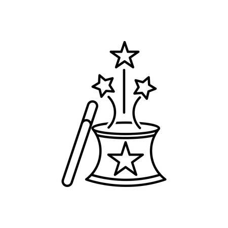 Icon for magic,magician 向量圖像
