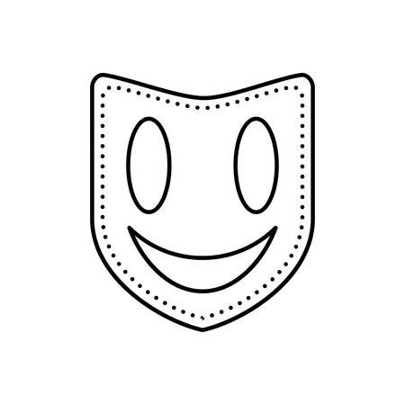 Icon for mask, face mask