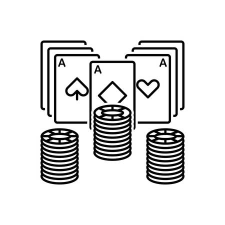 Icon for poker,poker chip