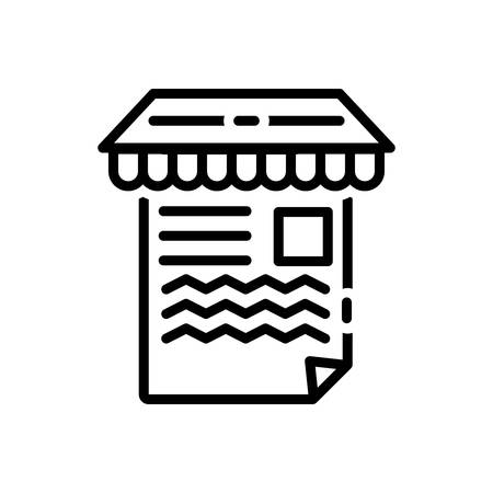 Icon for article,marketing Illustration