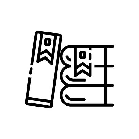 Icon for bookmarking,banner Illustration