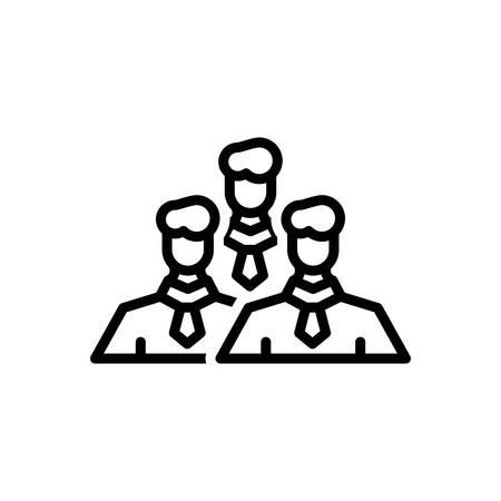 Icon for management,team Illustration