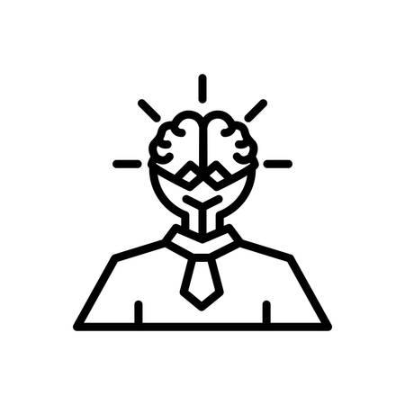 Icon for smart,ideas Illustration