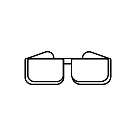 Icon for glasses,cinema