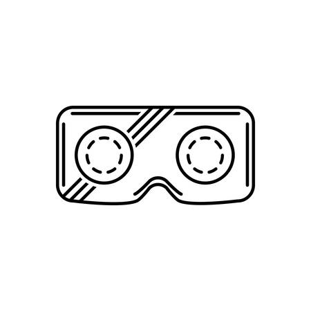 Icon for vr,glasses Stok Fotoğraf - 127769952