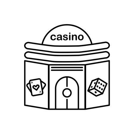 Icon for casino,poker 向量圖像