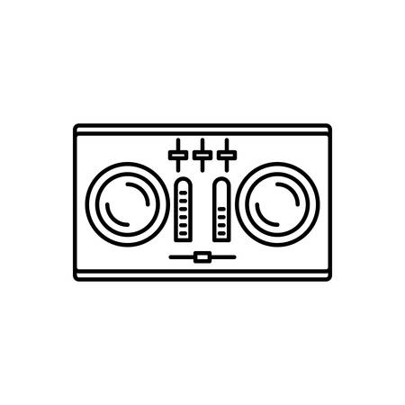 Icon for dj,remote 스톡 콘텐츠 - 127769826