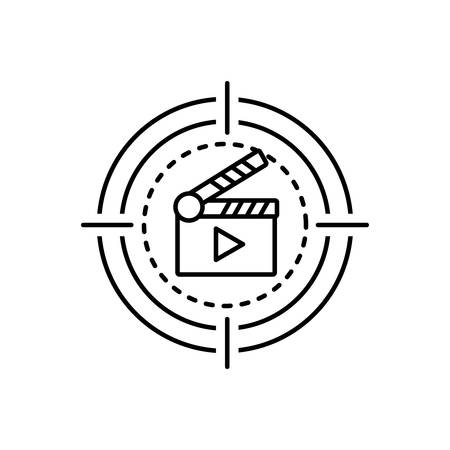 Icon for movie,cinema Çizim