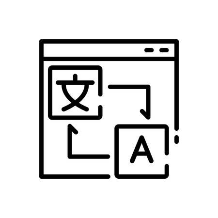 Icon for translation,localization