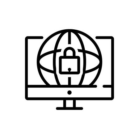 Icon for web,security