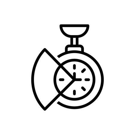 Icon for time,saving Illustration