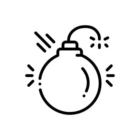 Icon for disruptive,harmful Illustration