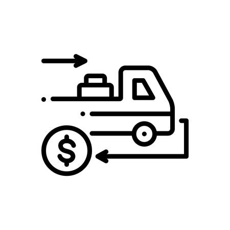 Icon for cashondelivery,deliver