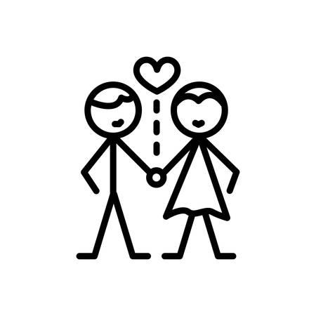 Icon for relationship,rishta