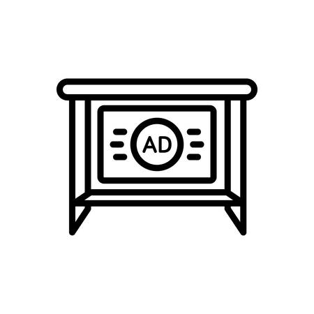 Icon for ad,presentation